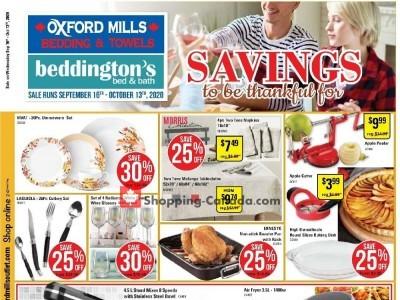 Beddington's Flyer Thumbnail