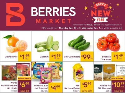 Berries Market Outdated Flyer Thumbnail