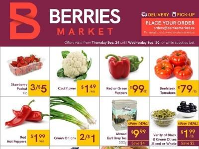 Berries Market Flyer Thumbnail