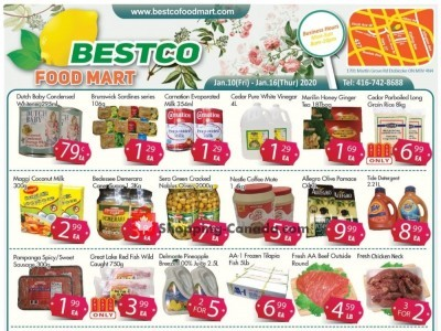 Bestco Food Mart Outdated Flyer Thumbnail