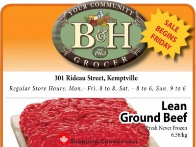 B&H YOUR COMMUNITY GROCER Outdated Flyer Thumbnail