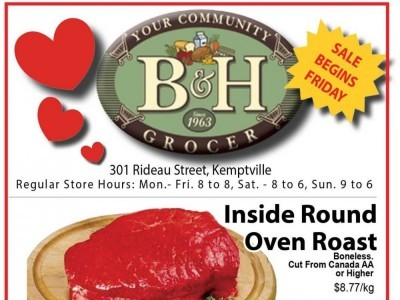 B&H YOUR COMMUNITY GROCER Flyer Thumbnail