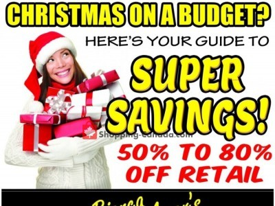 Bianca Amor's Liquidation Supercentre Flyer Thumbnail