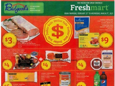 Bidgood's Supermarket Flyer Thumbnail