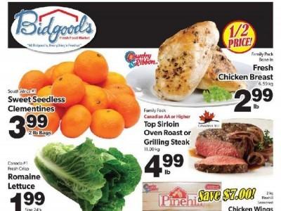 Bidgood's Supermarket Flyer Thumbnail