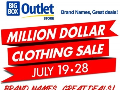 Big Box Outlet Store Flyer Thumbnail