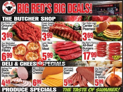 Big Red Markets Outdated Flyer Thumbnail