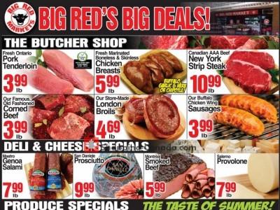 Big Red Markets Flyer Thumbnail