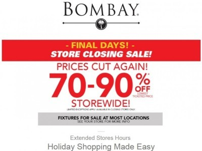 Bombay Co. Flyer Thumbnail