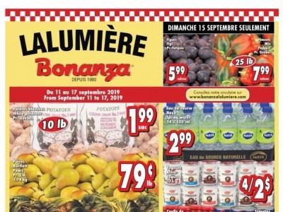Bonanza Outdated Flyer Thumbnail