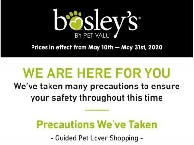 Bosley's Flyer Thumbnail
