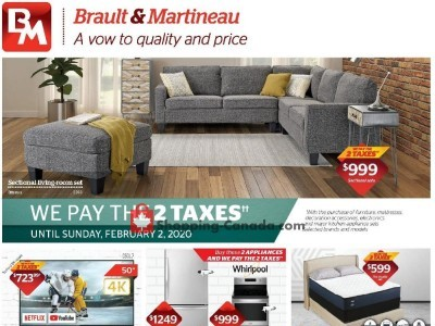 Brault & Martineau Outdated Flyer Thumbnail