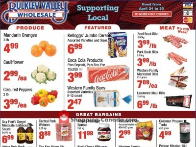 Bulkley Valley Wholesale Outdated Flyer Thumbnail