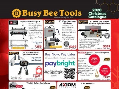 Busy Bee Tools Outdated Flyer Thumbnail