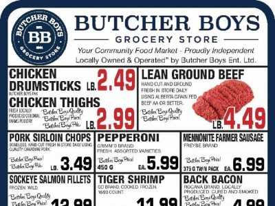 Butcher Boys Outdated Flyer Thumbnail