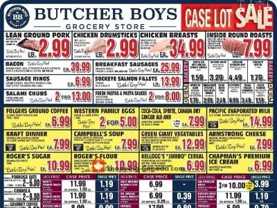 Butcher Boys Flyer Thumbnail