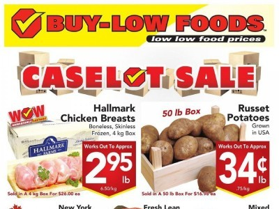 Buy-Low Foods Flyer Thumbnail