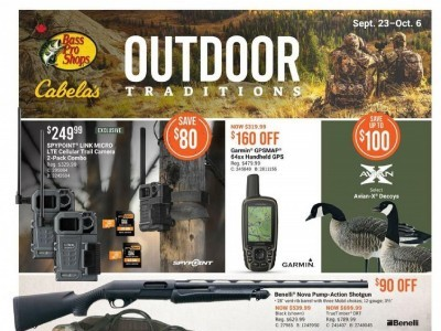 Cabela's Outdated Flyer Thumbnail