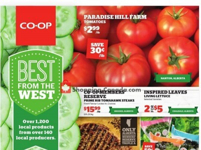Calgary Co-op Flyer Thumbnail