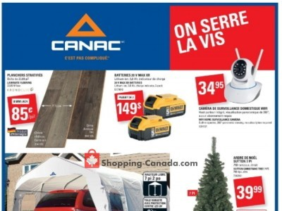 Canac Outdated Flyer Thumbnail