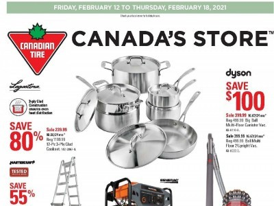 Canadian Tire Flyer Thumbnail