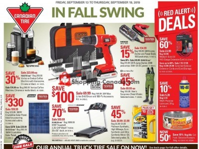 Canadian Tire Flyer Thumbnail