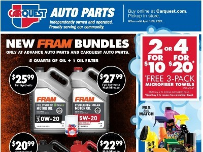 Carquest professionals Flyer Thumbnail