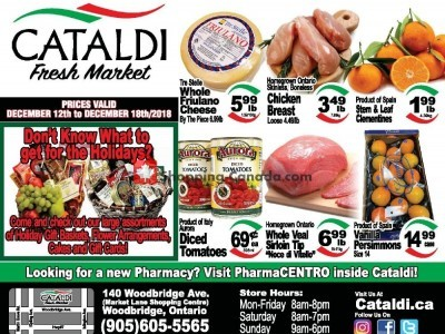 Cataldi Fresh Market Outdated Flyer Thumbnail