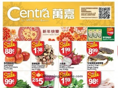 Centra Food Market Flyer Thumbnail