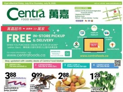Centra Food Market Flyer Thumbnail