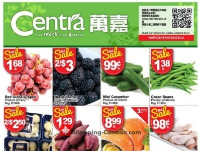 Centra Food Market Outdated Flyer Thumbnail