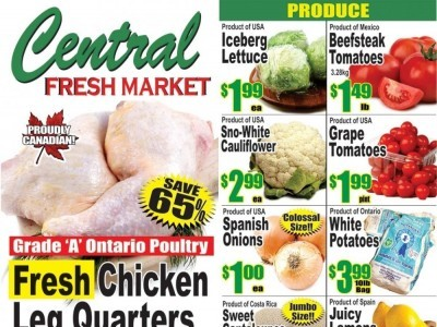 Central Fresh Market Outdated Flyer Thumbnail