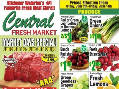 Central Fresh Market Flyer Thumbnail