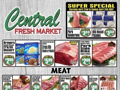Central Fresh Market Flyer Thumbnail