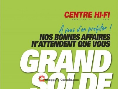 Centre Hi-Fi Flyer Thumbnail