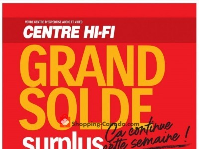 Centre Hi-Fi Outdated Flyer Thumbnail