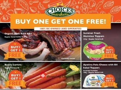 Choices Market Flyer Thumbnail