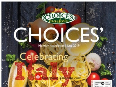 Choices Market Outdated Flyer Thumbnail
