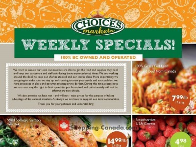 Choices Market Flyer Thumbnail