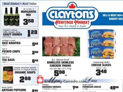 Claytons Heritage Market Flyer Thumbnail