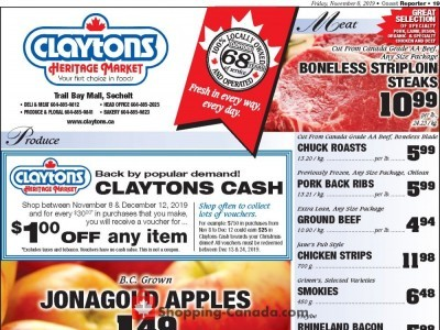 Claytons Heritage Market Outdated Flyer Thumbnail