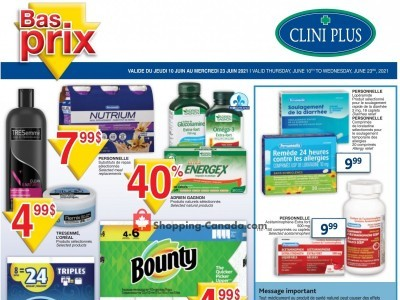 Clini Plus Outdated Flyer Thumbnail