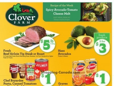 Clover Farm Outdated Flyer Thumbnail