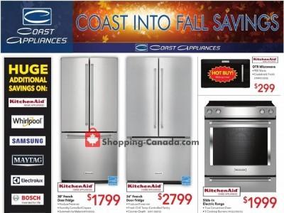 Coast Appliances Outdated Flyer Thumbnail