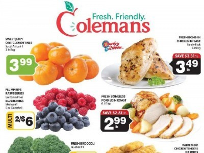 Coleman's Outdated Flyer Thumbnail