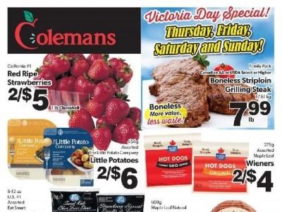 Coleman's Flyer Thumbnail