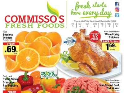 Commisso's Fresh Foods Flyer Thumbnail