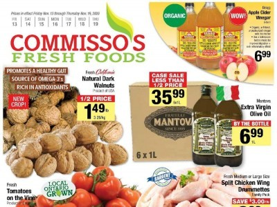 Commisso's Fresh Foods Outdated Flyer Thumbnail