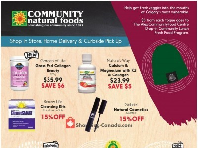 Community Natural Foods Flyer Thumbnail