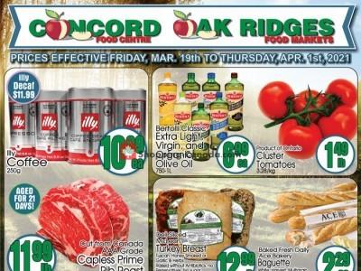 Concord Food Centre & Oak Ridges Food Market Flyer Thumbnail